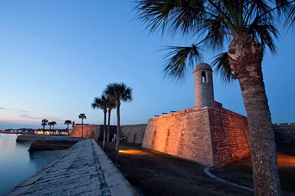 CASTILLO DE SAN MARCOS NATIONAL MONUMENT SAINT AUGUSTINE FLORIDA USA