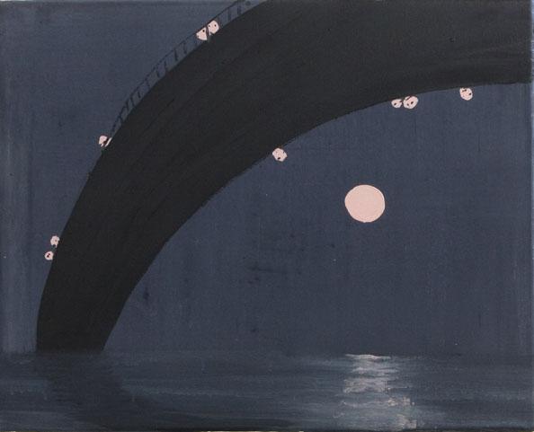 Norbert033_'Unter der Brucke', 2010,oil on canvas,40x50cm_largeweb